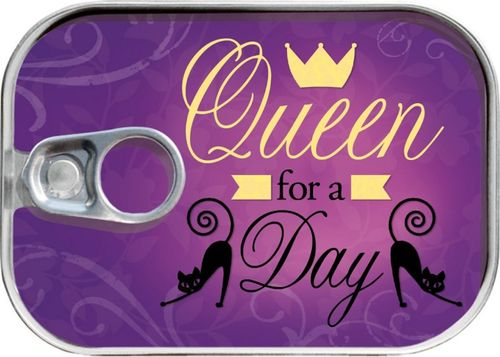"Dosenpost ""Queen for a day"""